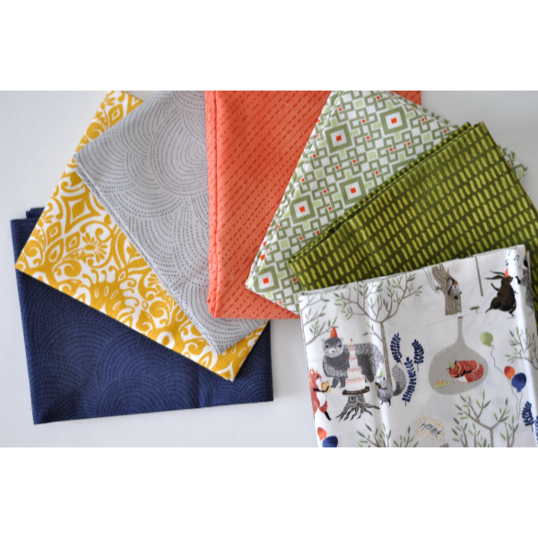 Forest Animals - Fat Quarter Bundle No 130