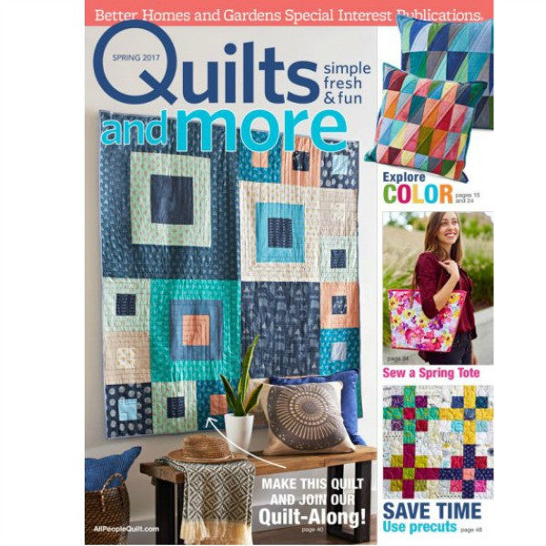 Magazine - Quilts and More (Spring 2017)