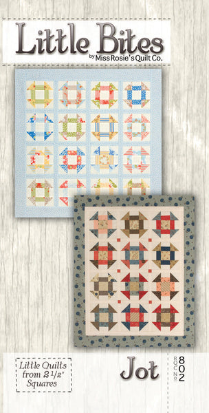 Pattern - Jot - Little Bites by Miss Rosie's Quilt Co