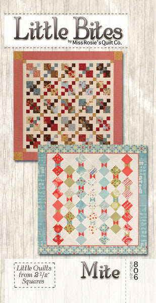Pattern - Mite - Little Bites by Miss Rosie's Quilt Co