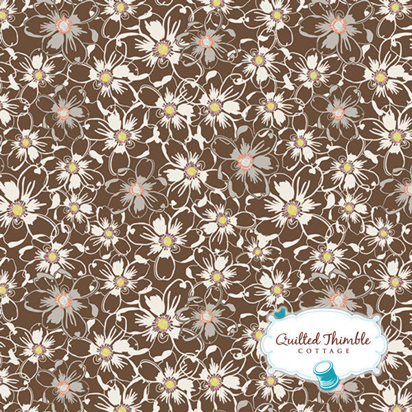 Sweet as Honey by Bonnie Christine - Bed of Daisies Nutmeg (SAH-2603)