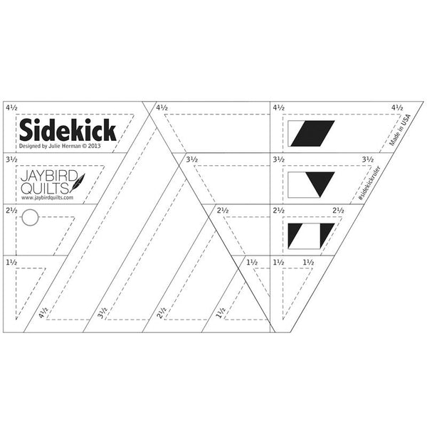 Ruler - Sidekick by Jaybird Quilts