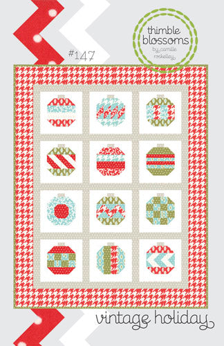 Pattern - Vintage Holiday by Thimble Blossoms