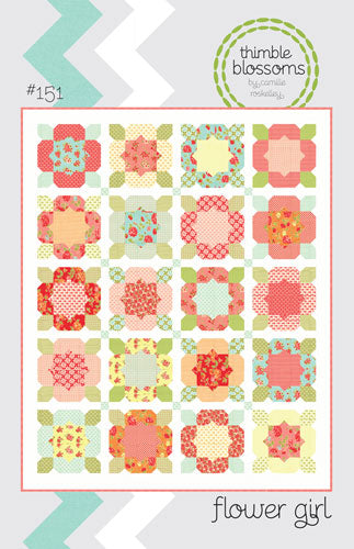 Pattern - Flower Girl by Thimble Blossoms