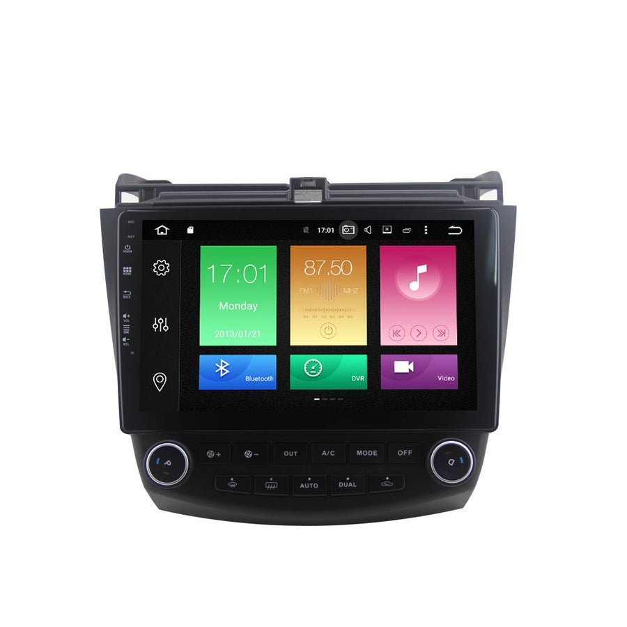 For Honda Accord 7 2003-2007 4GB+32GB Android 8 10.1 Inch Touchscreen Radio Bluetooth GPS Navigation Head Unit Stereo - CARSOLL