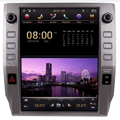 "For 2014-2018 Toyota Tundra 12.1"" Tesla-Style Radio Stereo Android GPS NAVI in-Dash Unit Bluetooth Wi-Fi (with knobs) V2 - CARSOLL"