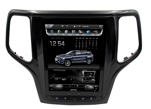 "Open box! 2013-2018 Jeep Grand Cherokee 10.4"" Tesla-Style Radio Stereo Android GPS NAVI in-Dash Unit Bluetooth Wi-Fi - CARSOLL"