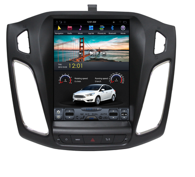 "2013- 2017 Ford Focus 10.4"" Tesla-Style Android Radio Stereo GPS NAVI in-Dash Unit Bluetooth Wi-Fi - CARSOLL"