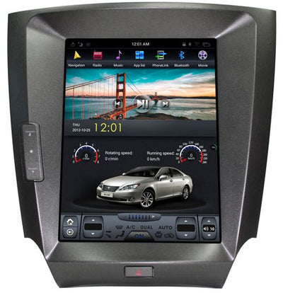For 2006-2013 Lexus IS 250 300 350 T-Style Android Radio Stereo GPS NAVI in-Dash Unit Bluetooth Wi-Fi - CARSOLL