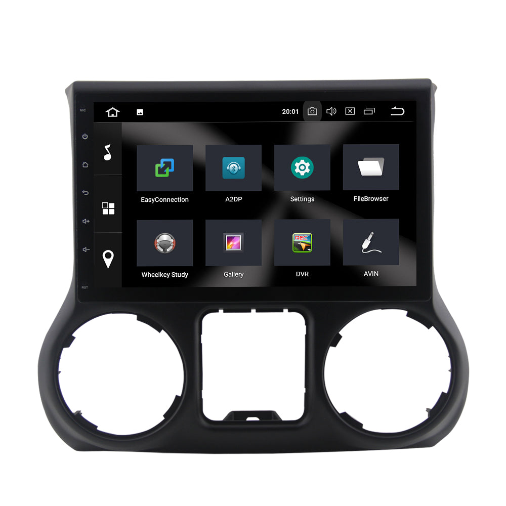 For Jeep Wrangler III (JK) 4GB+32GB Android 9 10.1 Inch