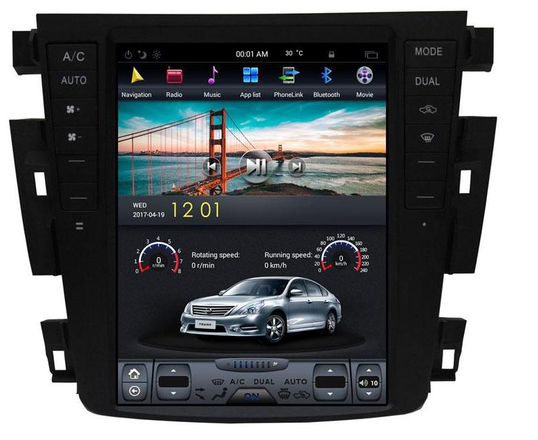 For 2003-2007 Nissan Teana Altima 10.4'' T-Style Android Radio Stereo GPS NAVI in-Dash Unit Bluetooth Wi-Fi - CARSOLL
