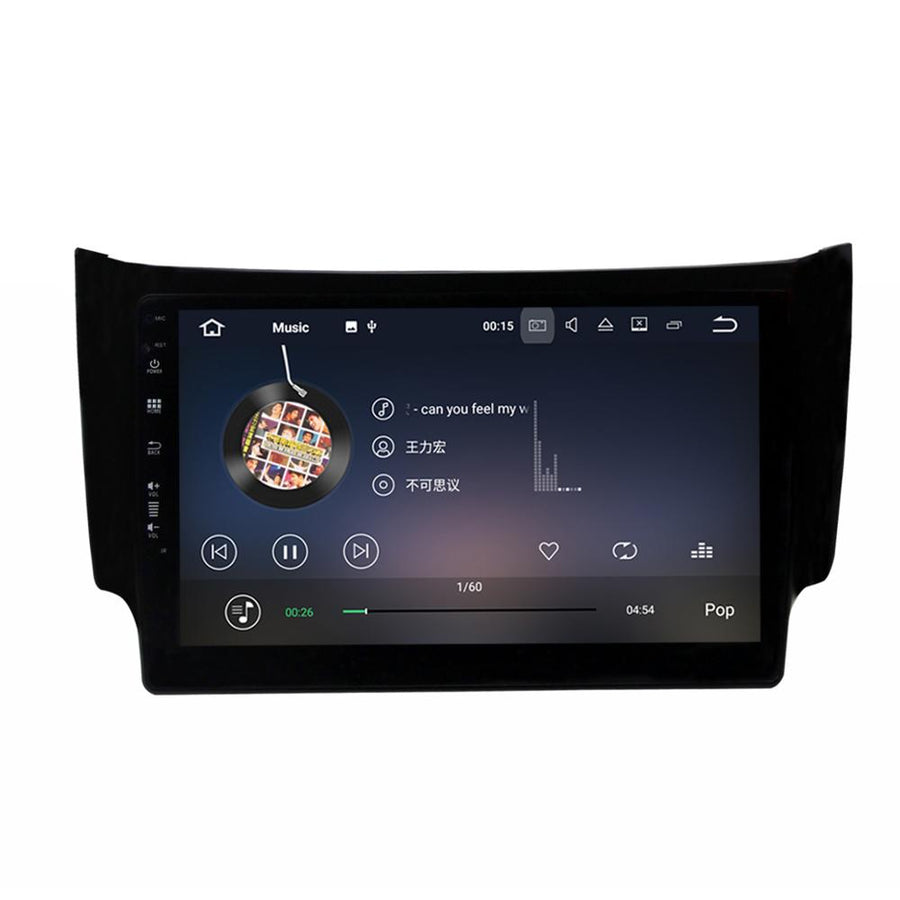 2012 - 2017 Nissan Sentra Sylphy Almera 4GB+32GB Android 8 10.1 Inch Touchscreen Radio Bluetooth GPS Navigation Head Unit Stereo - CARSOLL