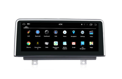 "10.25"" Car Stereo Android 7.1 Head Unit RAM 2G ROM 32G GPS Navigation Car Radio for BMW 4 Series F32/ F33/ F36 (2013-2016) with OEM NBT System - CARSOLL"