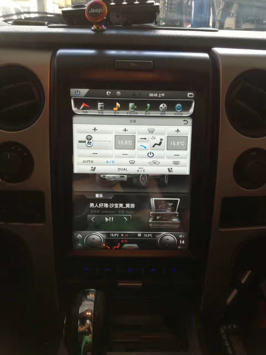 "For 2009-2013 Ford F150 250 350 12.1"" Tesla-Style Radio Stereo Android GPS NAVI in-Dash Unit Bluetooth Wi-Fi"