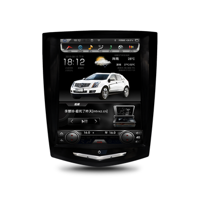 "Cadillac SRX 2013 -2018 10.4"" Tesla-Style Android GPS NAVI Radio in-Dash Unit for Bluetooth Wi-Fi - CARSOLL"