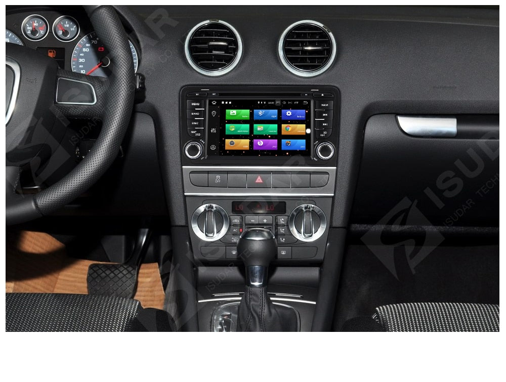 2002 2013 Audi A3 S3 Car Multimedia Player Android 80 Gps 2 Din