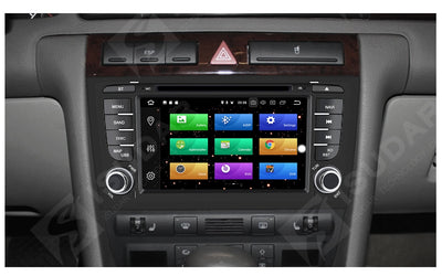 Audi/A6/S6/RS6 Multimedia Player Car Radio Two Din Android 8 0 Stereo  System For GPS RAM 4GB USB DVR OBD2 FM