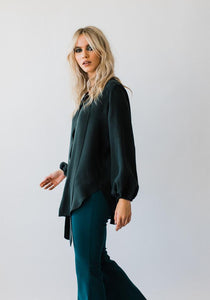 Pussybow Blouse Evergreen