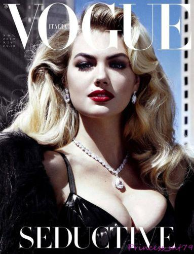 VOGUE Italia Magazine 2012 KATE UPTON by Steven Meisel NADJA BENDER Codie Young