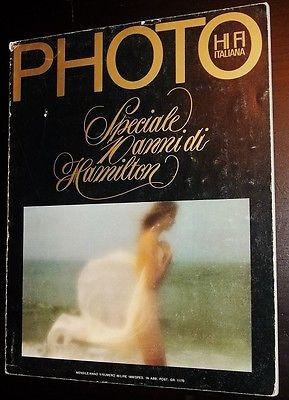 PHOTO Vintage Magazine 1979 Special Issue DAVID HAMILTON 34 pages pictorial