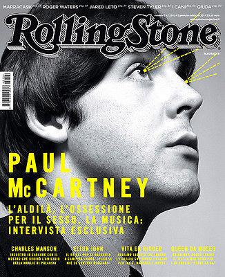 ROLLING STONE Magazine 2014 Paul McCartney JARED LETO Queen ELTON JOHN Charles Manson