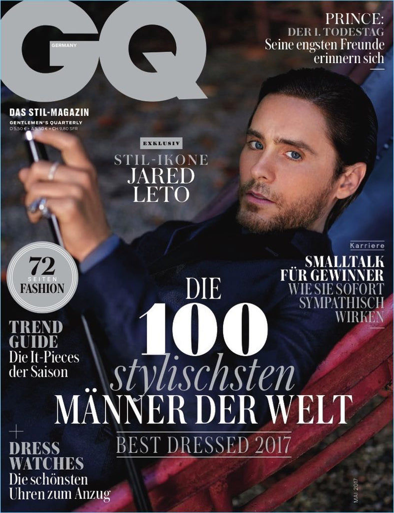 GQ Germany Magazine May 2017 JARED LETO Lauren Cohan BRAND NEW