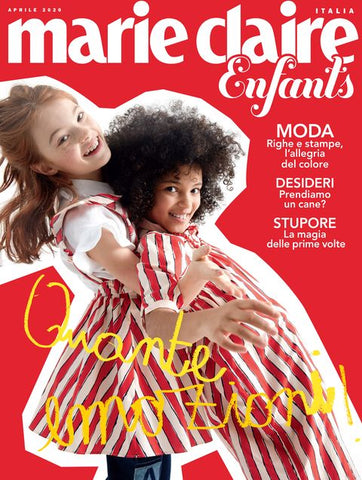 MARIE CLAIRE Italia April 2020 Kids BAMBINI Children Enfants Fashion Magazine