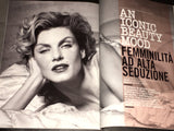 VOGUE Italia Magazine ANGELA LINDVALL Olga Sherer BEAUTY IN November 2015
