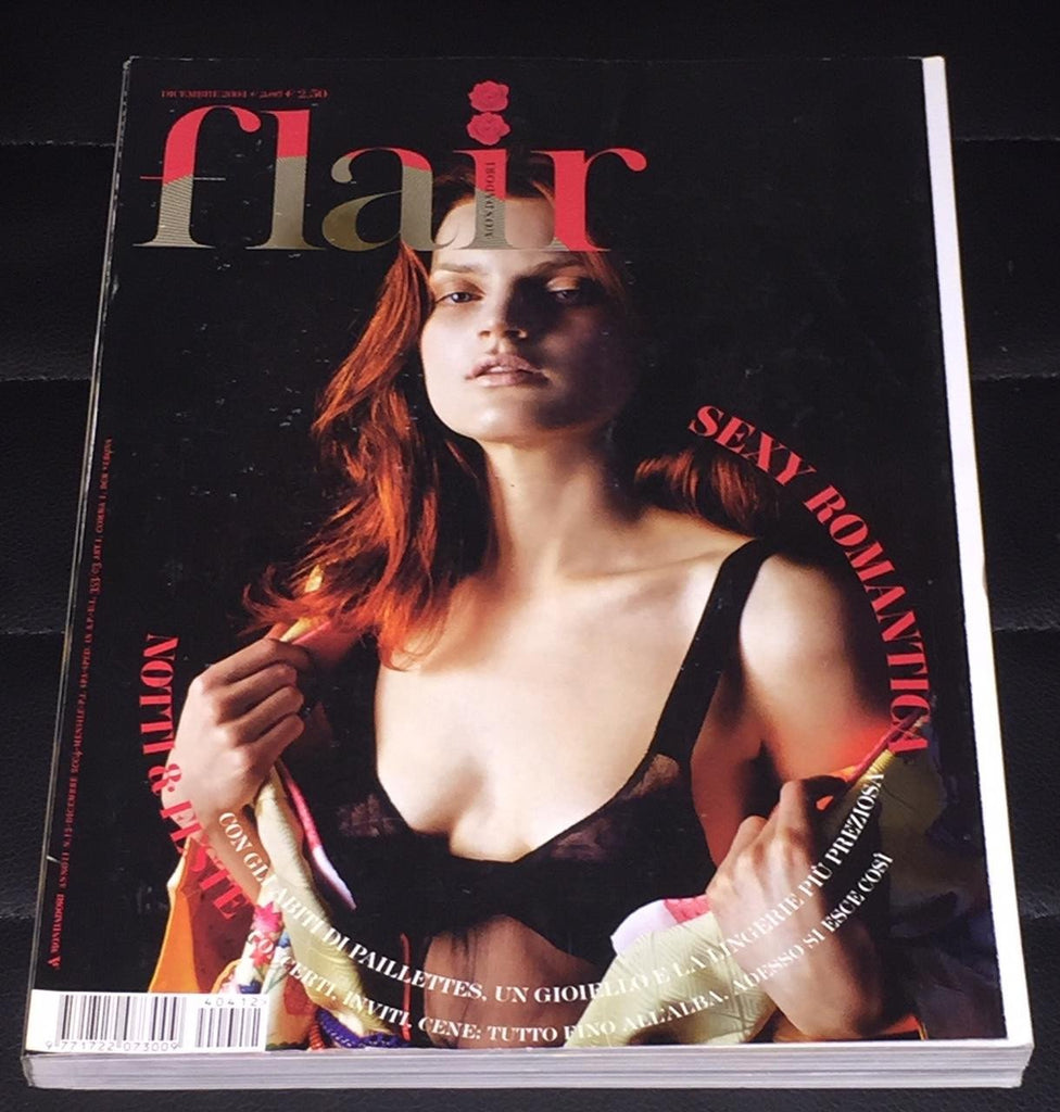 FLAIR Italia Magazine December 2004 GUINEVERE VAN SEENUS Filippa Hamilton HEATHER MARKS