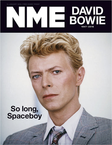 NME Magazine January 2016 DAVID BOWIE Katherine Ryan