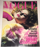 VOGUE Italia Magazine BRIDGET HALL Dossier Sfilate PRET A PORTER July 1994
