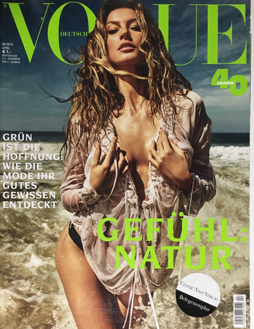 VOGUE Germany Magazine April 2019 GISELE BUNDCHEN Birgit Kos AMILNA ESTEVAO