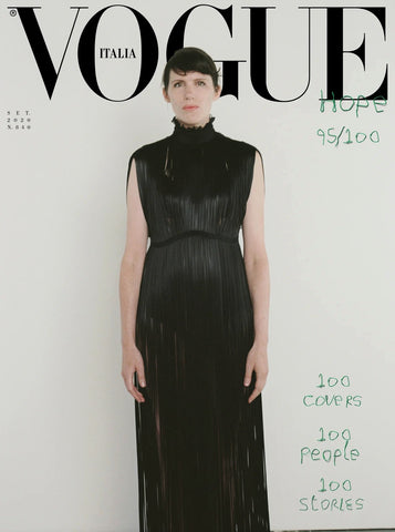 Vogue Italia Magazine September 2020 BEATRICE GALILEE cover [ 5 copies bundle ]