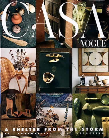 CASA VOGUE Magazine October 2019 Vintage Interior Design & Trends ANNEMARIEKE VAN DRIMMELEN
