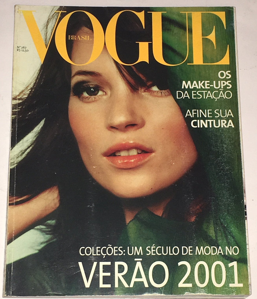 VOGUE Brazil Magazine August 2000 KATE MOSS Ana Betriz Barros ANA CLAUDIA MICHELS