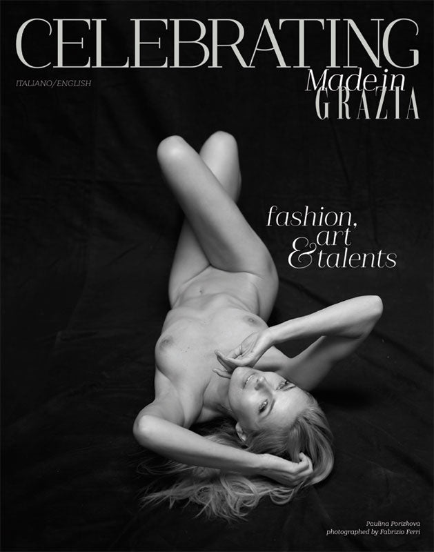 CELEBRATING Magazine 2018 PAULINA PORIZKOVA Monica Bellucci PATTY PRAVO Armani