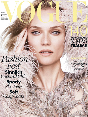 VOGUE Germany Magazine December 2017 DIANE KRUGER Grace Bol
