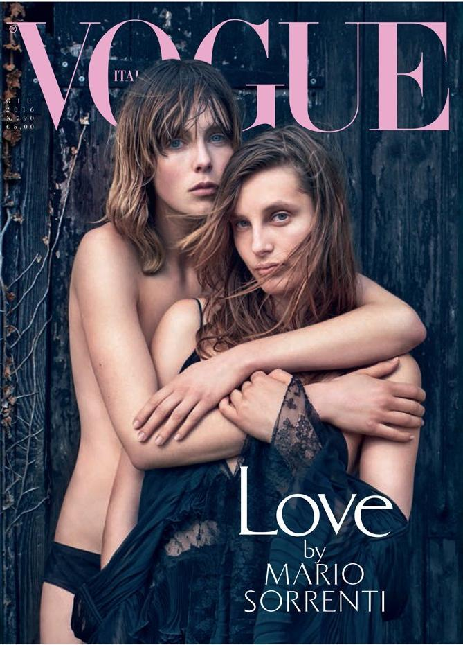 VOGUE Italia Magazine June 2016 EDIE & OLYMPIA CAMPBELL Amber & Yasmin Le Bon