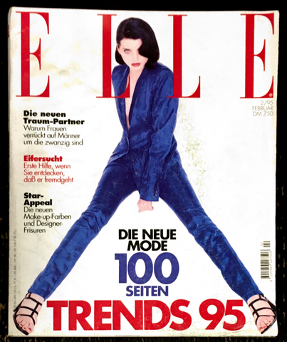 ELLE Germany Magazine February 1995 MICHELE HICKS Stella Tennant DIANE KRUGER