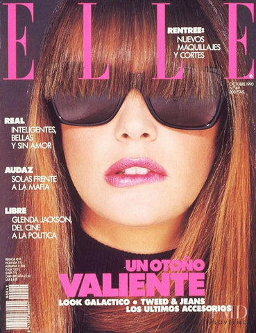 ELLE Spain Magazine October 1990 ELLE MACPHERSON Carla Bruni JUDIT MASCO