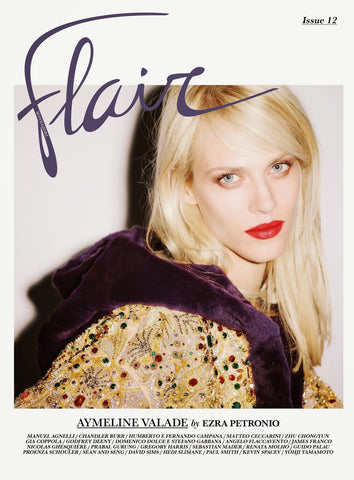 FLAIR Magazine September 2014 AYMELINE VALADE James Franco VALERY KAUFMAN David Sims