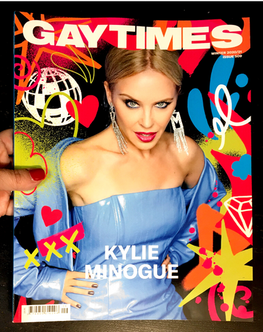 GAY Times Magazine Winter 2020 KYLIE MINOGUE Shea Coulee BRAND NEW