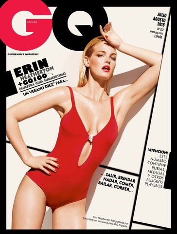 GQ Spain Spanish Magazine July 2015 ERIN HEATHERTON Tony Kelly ZOE KRAVITZ