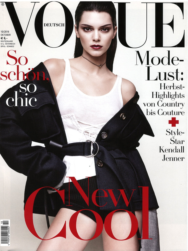 VOGUE Germany Magazine 2016 KENDALL JENNER Issa Lish MOLLY BAIR Sarah Moon - magazinecult