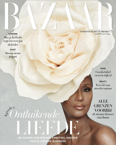 Harper's Bazaar Netherlands NL Magazine April 2021 IMAN Vanessa Kirby BRAND NEW