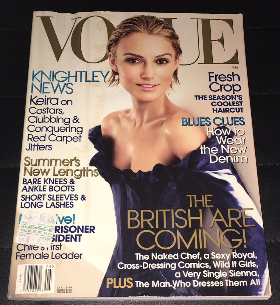 VOGUE US Magazine May 2006 KEIRA KNIGHTLEY Raquel Zimmermann LILY DONALDSON Cole