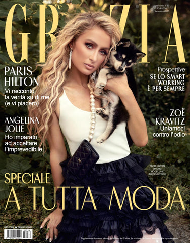GRAZIA Magazine Italy September 2020 PARIS HILTON Angelina Jolie ANYA TAYLOR JOY