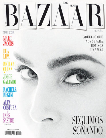 Harper's BAZAAR Magazine Spain May 2020 INES SASTRE Marc Jacobs KATLIN AAS