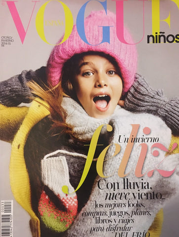 VOGUE Ninos SPAIN BAMBINI Kids Children Magazine Fall/Winter 2014-2015