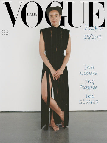 Vogue Italia Magazine September 2020 CASSI NAMODA cover 15 of 100 Brand New